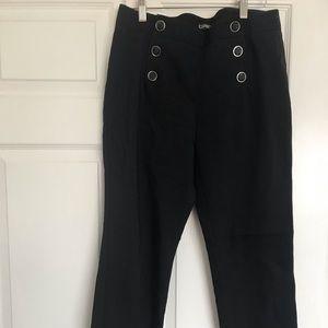 Express sailor crop work pants